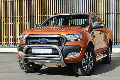 SHIELD BUFFALO FORD RANGER 12 COUNTERPART STAINLESS STEEL DIA 70mn,WARRANTY 6ans