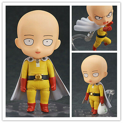Hot One Punch Man Hero Saitama Nendoroid  PVC Figure Anime Collection 4''