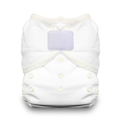 Thirsties Duo Wrap Aplix Cloth Diaper Cover in WHITE