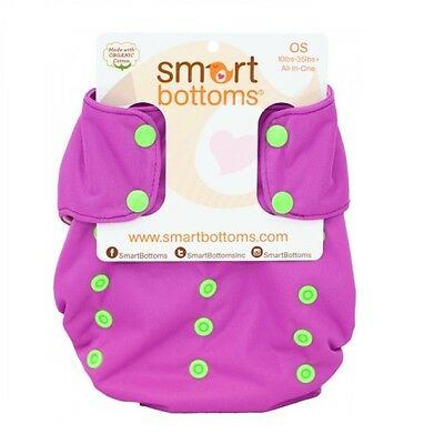 Grape Soda Smart Bottoms Smart One Diaper 3.1 - Organic