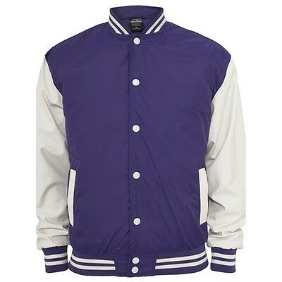 Nylon College Jacken Urban Classic in Purple - Uni Jacke