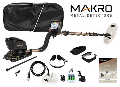 Makro Gold Racer Pro Package Metal Detector - Free Shipping
