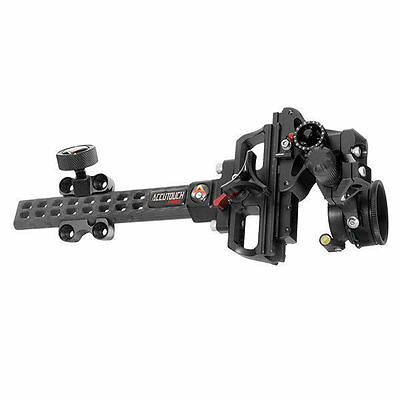 Axcel AccuTouch Carbon Pro Slider Sight X-41 Scope .019 Blue Fiber ACUT-C119-4LB