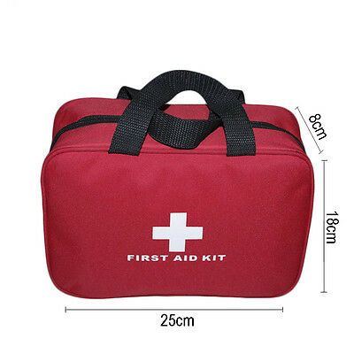 Sports Outdoor Travel Camping Home Medical Emergency Survival first aid kit Bag