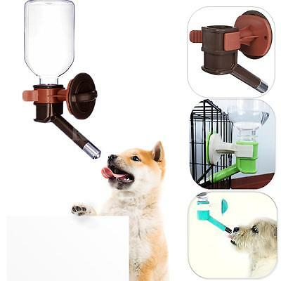 Portable Pet Travel Water Bottle Dispenser Feeder Pipe Dog Cat Drinking Fountain