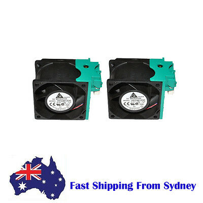 2 X Delta 60*60*38mm PFC0612DE 12V  6cm Server Fan