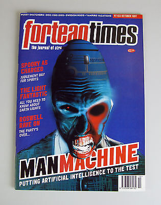 Fortean Times #103  October 1997 / Manmachine - Artificial Intelligence