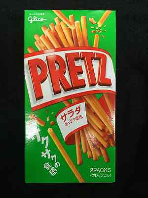 Japanese Glico Salad Pretz Biscuit snack sticks 1,3.5pack free shipping!