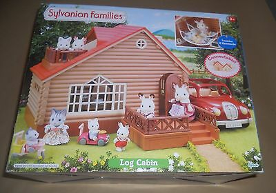 Sylvanian Families Ex-Display Log Cabin And Cosy Cottage Free Postage.
