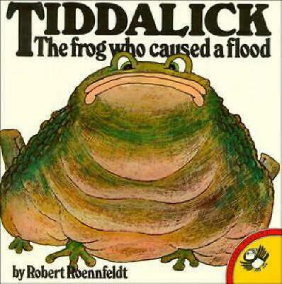 Tiddalick: The Frog Who Caused a Flood by Robert Roennfeldt Paperback Book Free