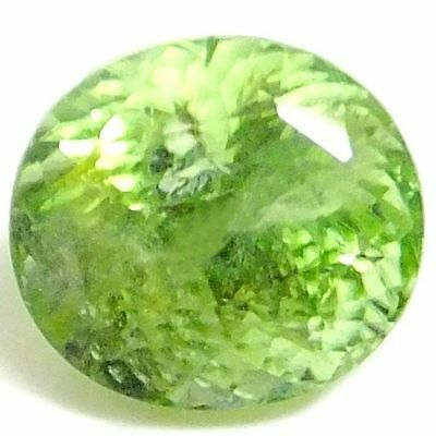 NATURAL RARE AAA GREEN PERIDOT LOOSE GEMSTONE (10 x 9 mm) OVAL SHAPE  (4.98 Cts)