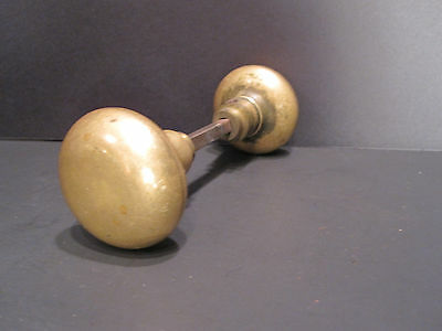 Antique Brass Minimalist Door Knobs Handle Chicago Land Origin Interior Decorate