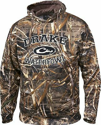 Drake Waterfowl Systems Collegiate Hoodie Realtree MAX 5 Blades DW2240 NWT