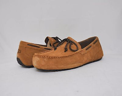 UGG Australia Men's Chester Loafers Chestnut Suede 1005350 Sz 8-14 NEW w/ Box