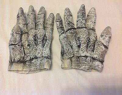 Vintage  Halloween Latex Skeleton Gloves fromThe Paper Magic Group from 2002