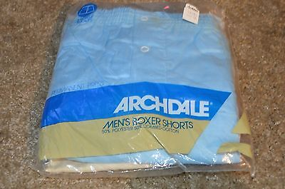 Vintage Men's Boxer Shorts Archdale solids new 40