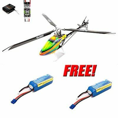 Blade Trio 360 CFX BNF Basic 3-Blade 3D Helicopter w/ Free 2X 6S Lipo Battery