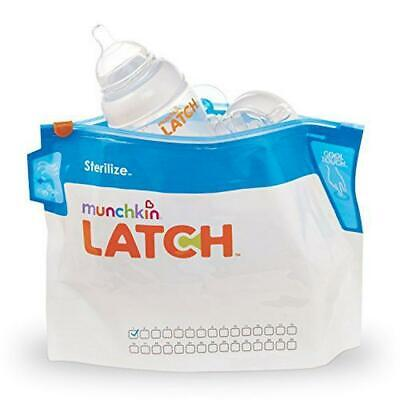 Munchkin Latch Microwave Sterilize Bags, 180 Uses, 6 Pack Munchkin Free Shipping