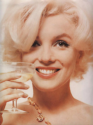 MARILYN MONROE Champagne Classic Movie Promo Poster A1 A2 A3 A4 Sizes