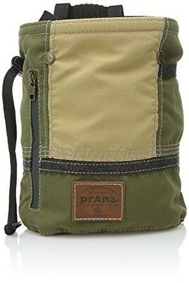 prAna Color Block Chalk Bag, One Size, Cargo Green