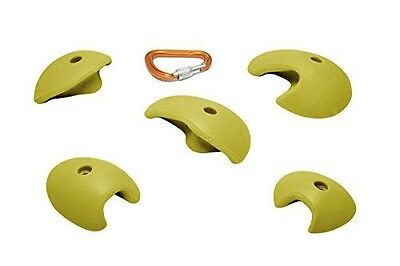 ETCH Compers Set D Climbing Hold, Yellow