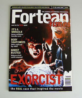 Fortean Times #123  June 1999 / Exorcist - The Real Case That Inspired The Film