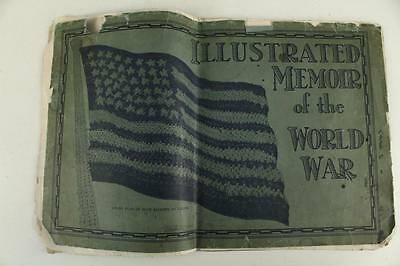 Vintage Military Paper Illustrated Memoir of the World War One Picture Book
