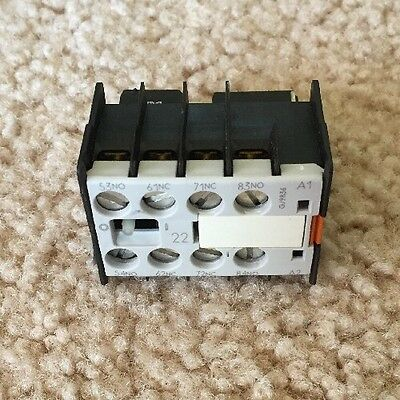 Siemens 3TX4422-2A Auxiliary Contact Block