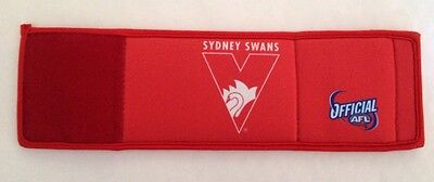 AFL  SYDNEY SWANS  WRISTY 3 IN 1 STUBBY HOLDER WALLET FOOTBALL Clearance ✔️✔️