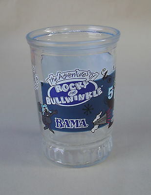 Adventures Of Rocky & Bullwinkle #5 Fearless Leader Collectable Bama Jelly Jar