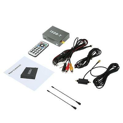 Car Mini ISDB-T Digital TV Box DVD Analog TV Receiver +Remote Controller D5U1