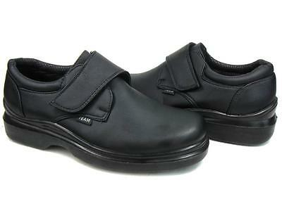 Men's Kitchen Non-slip Working Skid Resistance Synthetic Shoes Black