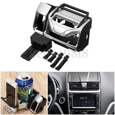 Universal In Car Air Vent Mount Beverage Drink Cup Bottle Can Phone Holder Stand