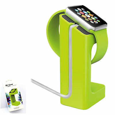 Station pour Apple Watch Support de charge/station d'accueil Vert Chargeur