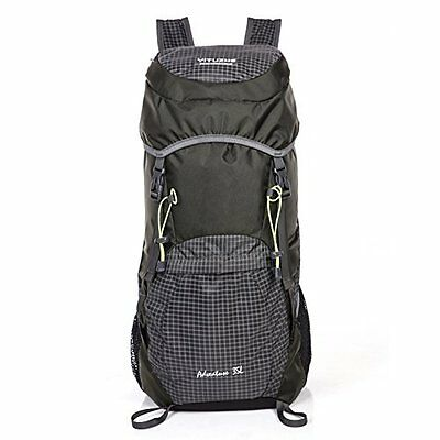 Packable Waterproof Hiking Backpack - 35L Ultralight Travel Backpacking - Sports
