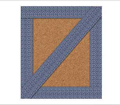 CD YOU-NIQUE NAVY FEATHER STRAIGHT Bulletin Board Border Trim (108251)