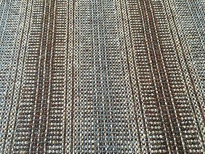 Maharam 100% Wool Stripe Upholstery Fabric- Wool Strie Umber 3.75 yd 466184-005