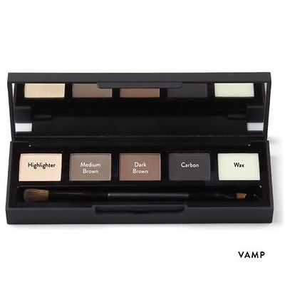 High Definition/HD Brows Eye Shadow + Brow Enhancement Makeup Palette VAMP New R