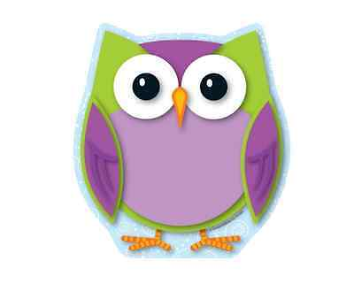 CD COLORFUL OWL Notepad (151065)