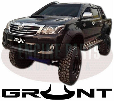 """Grunt 4X4 5"""" Monster Jungle Wheel Arch Flares Suit Toyota Hilux 2011 - 2015"""