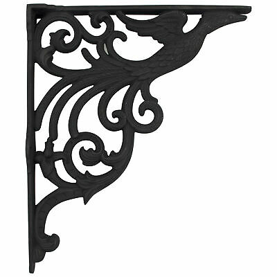 Vintage Style Cast Iron BIG SINK Wall Bracket for Plants Wind Chime Hanging