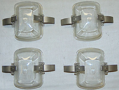 Lot of 4 Covers for Adapters for an Eppendorf 5804 centrifuge