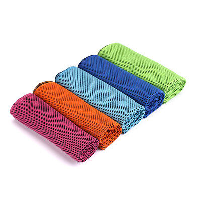 Cooling Ice Cold Enduring Sports Instant Running Jogging Gym Chilly Pad Towel