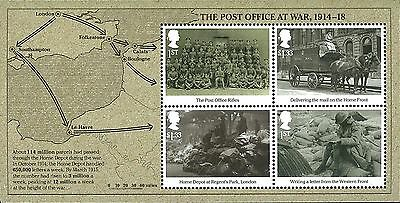 UK Stamp, 2016 ENG1610S 1st World War S/S, Army, Military, History