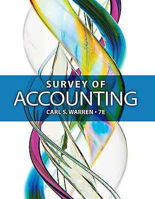 Survey Of Accounting 7th USA Ed Warren 2015