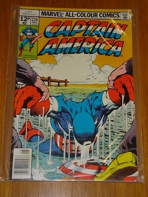 Captain America #224 Marvel Comic Near Mint Condition August 1978