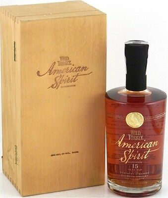 Wild Turkey American Spirit 15yo RARE 700ml