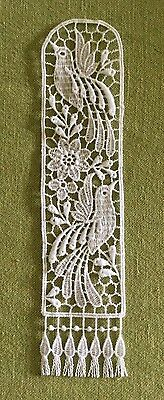Lace Bookmark - Birds