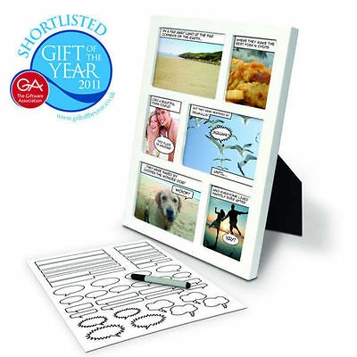 Comic Strip Photo Frame - Novelty Funny Gift - You Can Personalise