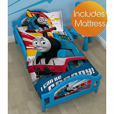 Thomas & Friends Toddler Bed + Deluxe Mattress